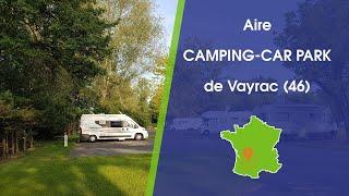 Aire CAMPING-CAR PARK de Vayrac (46)