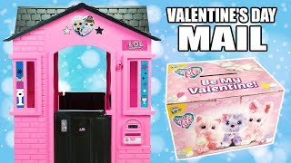 Special Delivery at LOL Surprise Cottage Playhouse | Lilac Scruff-a-Luvs Valentine's Day Mail