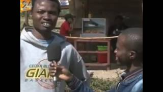 Funny interview of a Kenyan man
