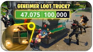 DER GEHEIME 100.000 HP EISWAGEN IN GREASY GROVE 🍦 | Fortnite Mythen Deutsch German