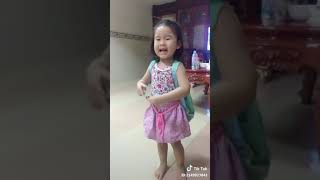 May 11, 2018 Tik Tok yaya Ta Che 2.5 years old