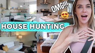 Let's Find A House! | House Hunting Experience #1 Vlog