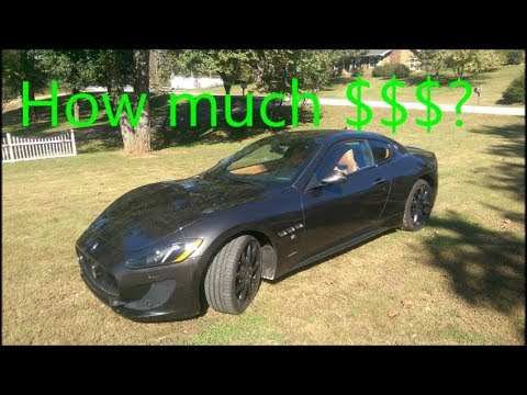 How Much Is An Oil Change >> How Much Is An Oil Change On The Maserati Granturismo