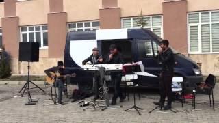 Erciş de nevruz kutlaması - MEslek yüksek okulu öğrencileri ve öğretmenleri