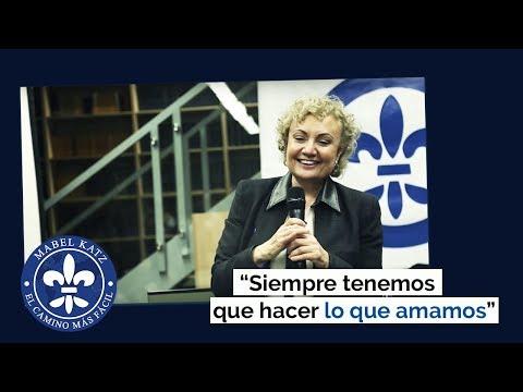 """""""Siempre tenemos que hacer lo que amamos"""" · Conferencia de Mabel Katz en Perú · Junio 2017"""