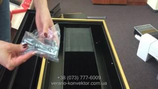 Обзор внутрипольного конвектора Verano VK 15