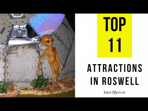 TOP  11. Tourist Attractions & Things to Do in Roswell, New Mexico
