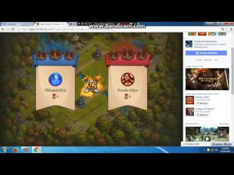 Game Facebook Royal Arena Mirip Sama clash royale Game Android