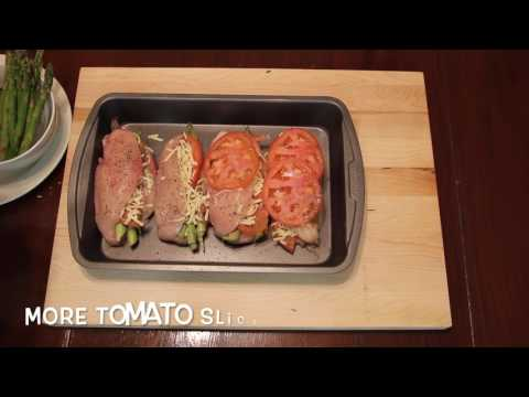 Asparagus And Tomato Stuffed Chicken Recipe