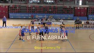 Gambar cover U14M Torneo Chus Mateo Academy: SOLNA VIKINGS vs.FUENLABRADA (BasketCantera.TV)