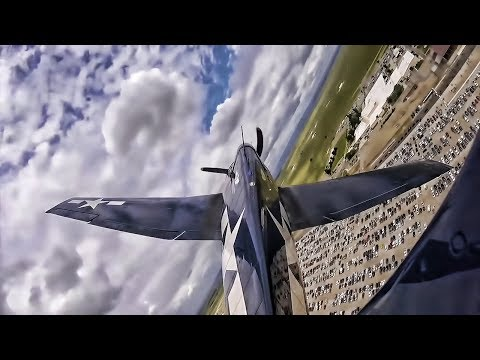 Restored WWII Era F6F Hellcat • POV Video From Tail