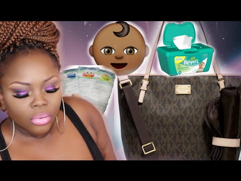 WHAT'S IN MY DIAPER BAG 2015   @LYRICROCHESTER