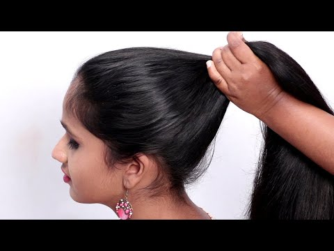New Bridal Hairstyle For medium/short Hair Wedding Updo Tutorial    2019 girls hairstyle