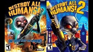 Destroy all Humans: Path of the Furon (OLD REVIEW)