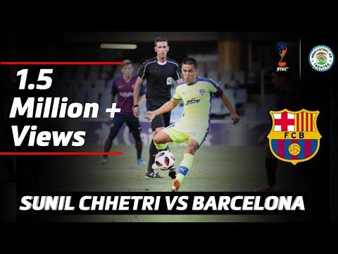 SUNIL CHHETRI VS FC BARCELONA B – INDIVIDUAL HIGHLIGHTS – 720P HD