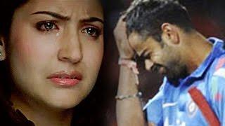 Repeat youtube video Anushka Sharma ABUSED for boyfriend Virat Kohli's FAILURE in World Cup 2015 Semi Finals