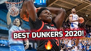 Who's The BEST DUNKER In College!? Cole Anthony, Anthony Edwards, Cassius Stanley, & More! 🔥