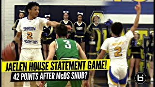Jaelen House TEACHES 'EM A LESSON!! SNAPS For 42 Points w/ 3 Starters Out w/ Injury!!