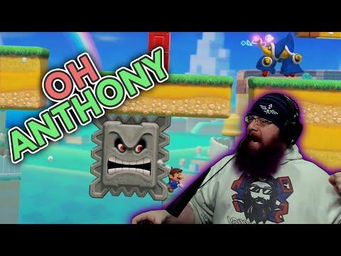Oh, Anthony.. | Super Mario Maker 2 Super Expert Endless No Skip with Oshikorosu