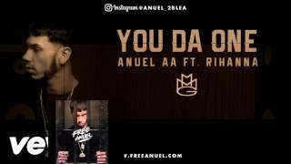 anuel aa ft rihanna you da one audio remix 2016