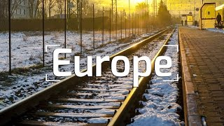 EPIC EUROPEAN TRAIN TRIP!!!