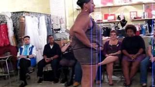 plus size fashion show at redress nyc during new york fashion week