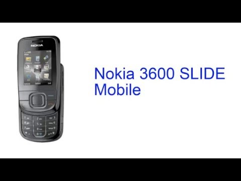 Nokia 3600 SLIDE Mobile Specification [INDIA]