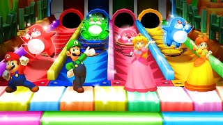 Mario Party Star Rush MiniGames - Mario Vs Luigi Vs Peach Vs Donkey Kong (Master Cpu)