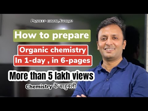 Organic Chemistry in 1 day in 6 pages .#part-1