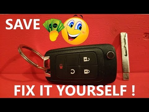 Fix your GM switchblade key fob yourself
