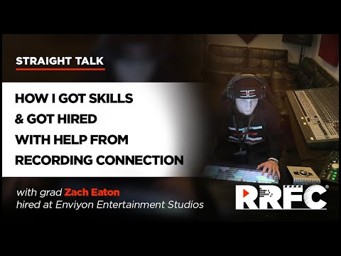 How I Got Audio Skills & Got Hired with Help from Recording Connection
