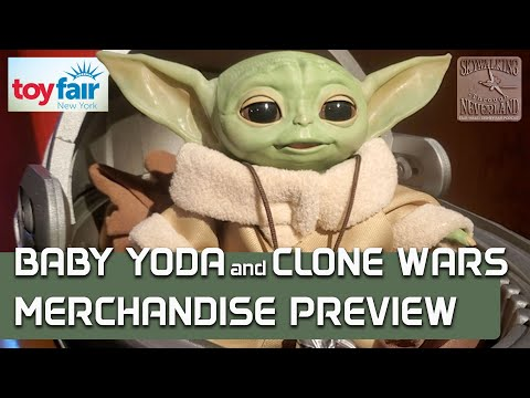 Baby Yoda / Star Wars: The Clone Wars Toy Fair Merchandise Preview (with prices!)