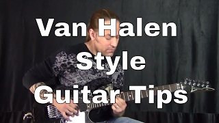 """""""In the Style Of"""" Van Halen Style Guitar Playing - Steve Stine Guitar Lessons"""