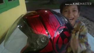 Airbrush helm KYT DJ maru