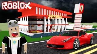Ferrari Mağazası Kuruyoruz!! - Panda ile Roblox Showroom Simulator