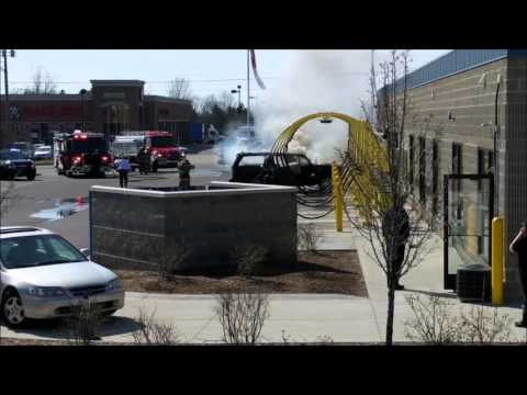 Car Fire at Southland Auto Wash in Gaines Charter Township | March 29th, 2016