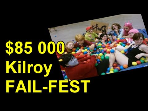 Kilroy, -$85000 'Free Speech' Fail-fest!
