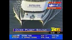"KING 5 (NBC Seattle) / KOMO 4 (ABC Seattle): ""LIVE: Springer the Orca Heading Home... Or Is She?"""