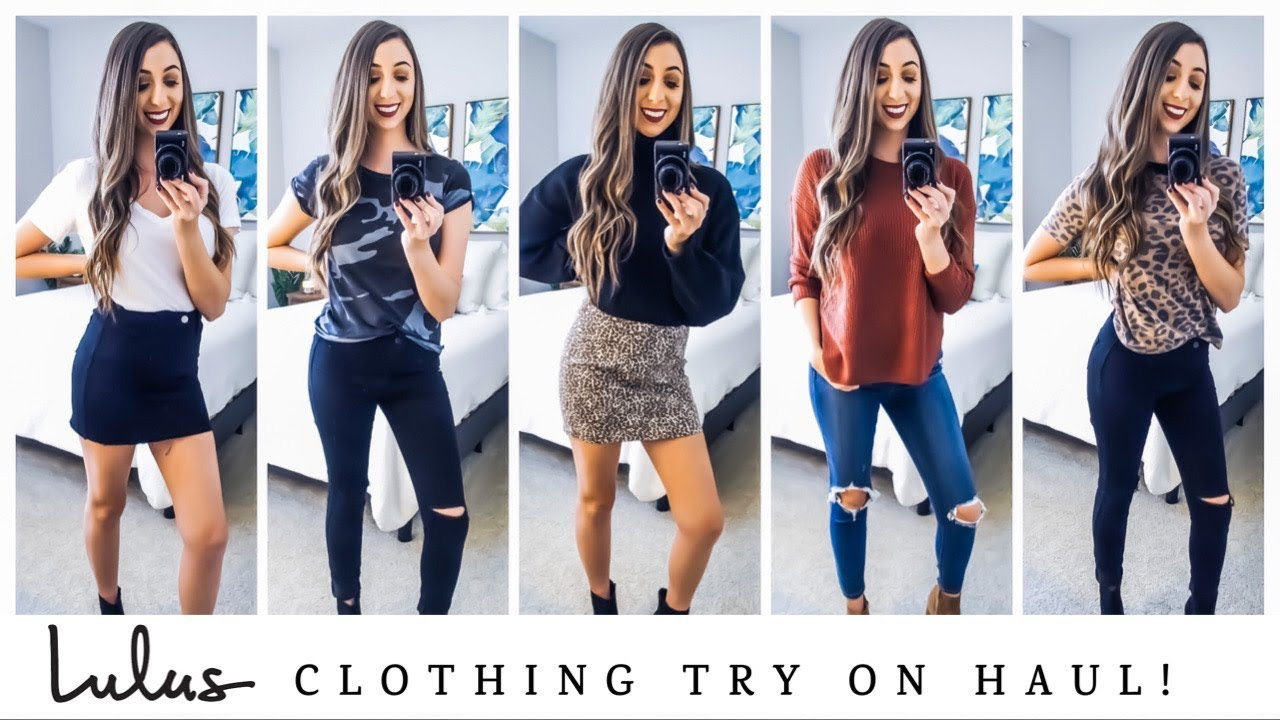 [VIDEO] - LULUS CLOTHING TRY-ON HAUL! SUCH CUTE OUTFIT IDEAS 2019! 5