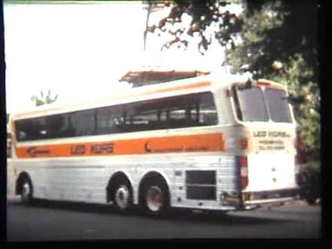 Silver eagle bus Leo Kors