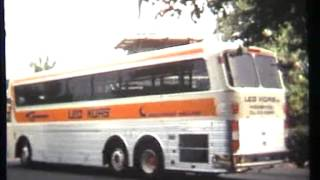 Silver eagle bus Leo Kors