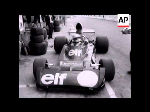 SOUTH AFRICAN GRAND PRIX - PETER REVSON CRASH - NO SOUND