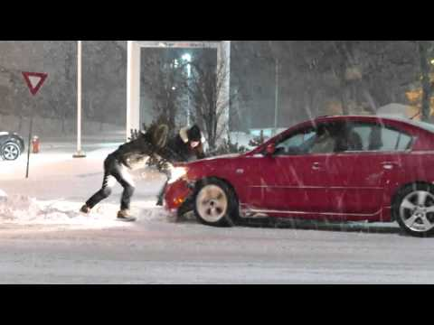 snow storm footage mississauga 1 3 2016