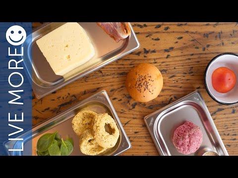 Yummy Organic burger recipe @ Bareburger Dubai