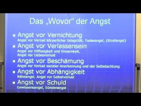 1/5: Dr. Jobst Finke: Angst=der Schwindel der Freiheit - Gesprächspsychotherapie der Angststörungen