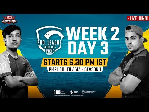 [Hindi] PMPL South Asia 2020 LIVE | PUBG Mobile Pro League 2020 LIVE STREAMING Week 2 Day 3