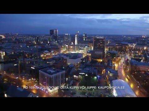 Aerovideo: Öine Tallinn - Vanalinn Sadam Rotermann Viru keskus (FullHD 1080p)