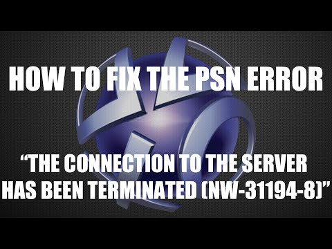 "How To Fix The ""Connection To The Server Has Been Terminated"" Error on PS4 (PSN)"