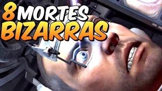 TOP 8 Mortes BIZARRAS nos GAMES