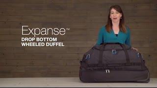 Expanse™ Drop Bottom Wheeled Duffel 32 | Eagle Creek